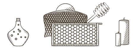 Včelařské potřeby a produkty